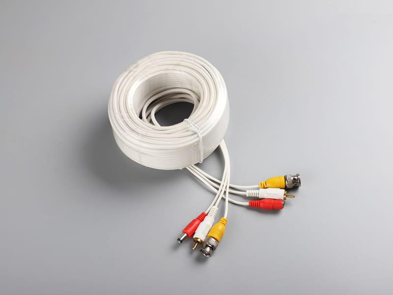 Factory making Cctv Security Camera Power Cable -